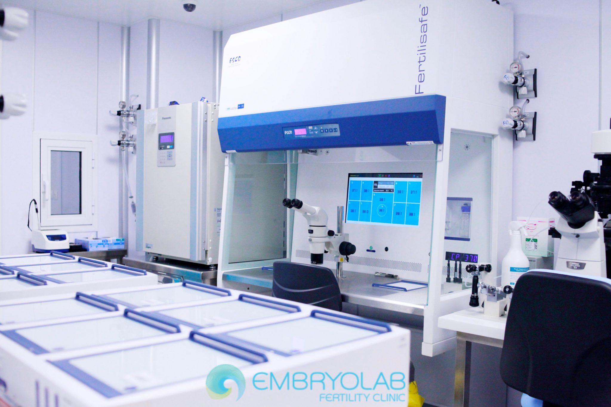 Embryolab IVF lab