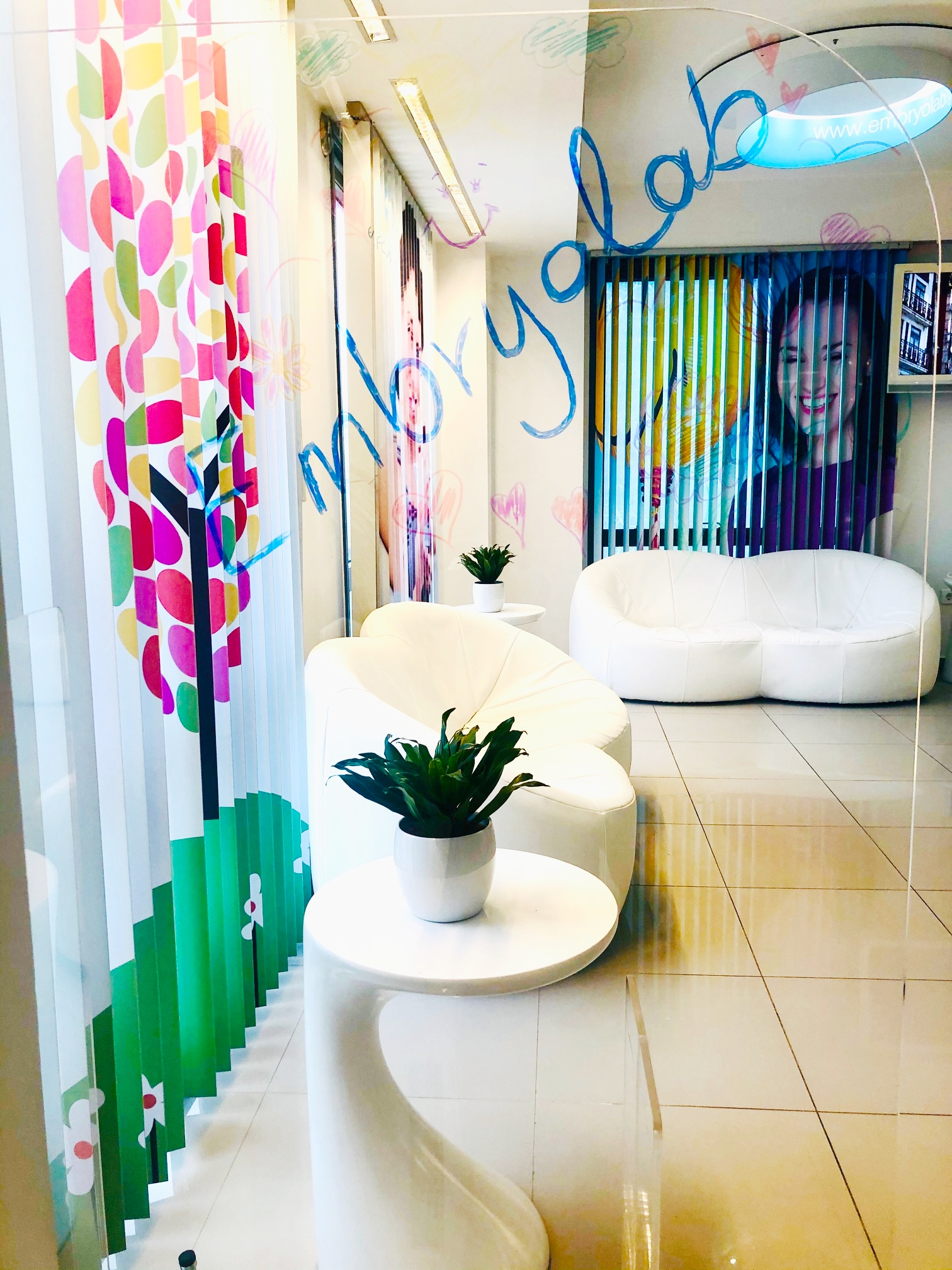 Embryolab waiting room